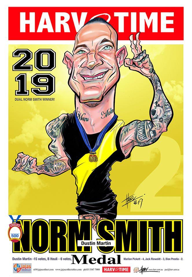 2019 Norm Smith A3 Print